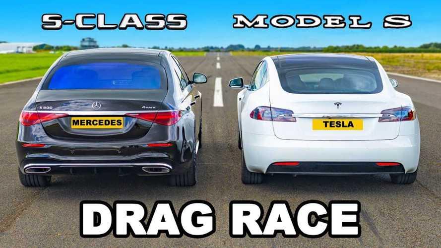 Tesla Model S Vs Mercedes S-Class: Race Of The Family Sedans