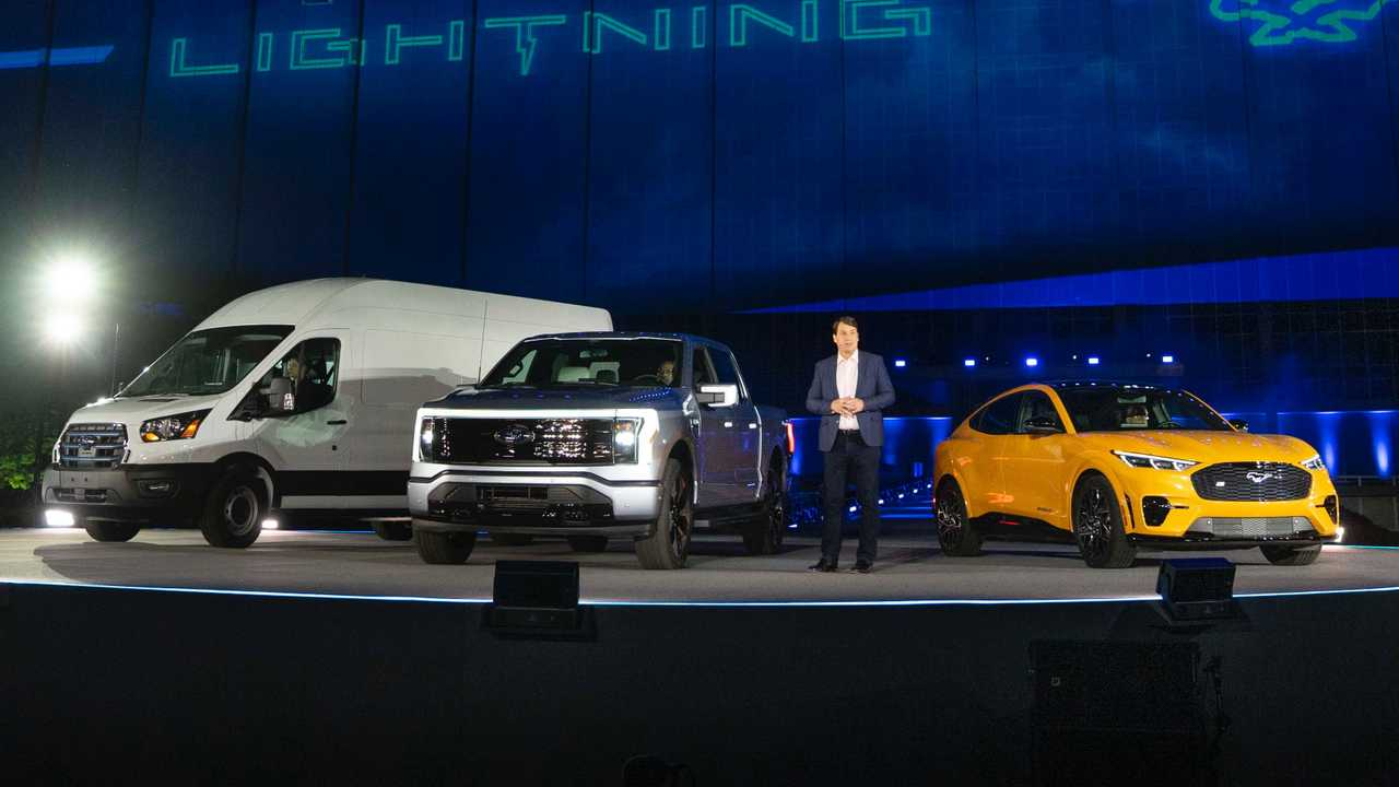 Ford E-Transit F-150 Lightning And Mustang Mach-E