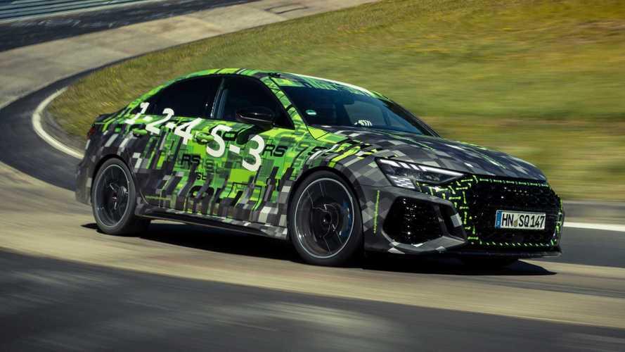 Audi RS 3 Limousine mit neuem Nordschleife-Rekord für Kompakte