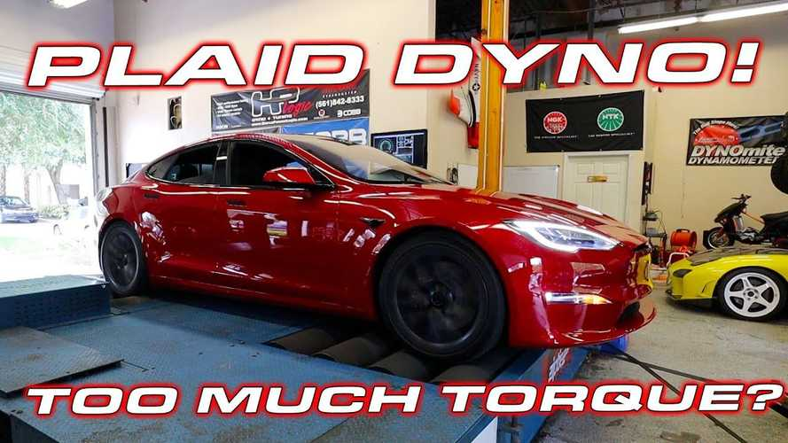DragTimes Tests Tesla Model S Plaid On The Dyno: Unsuccessfully