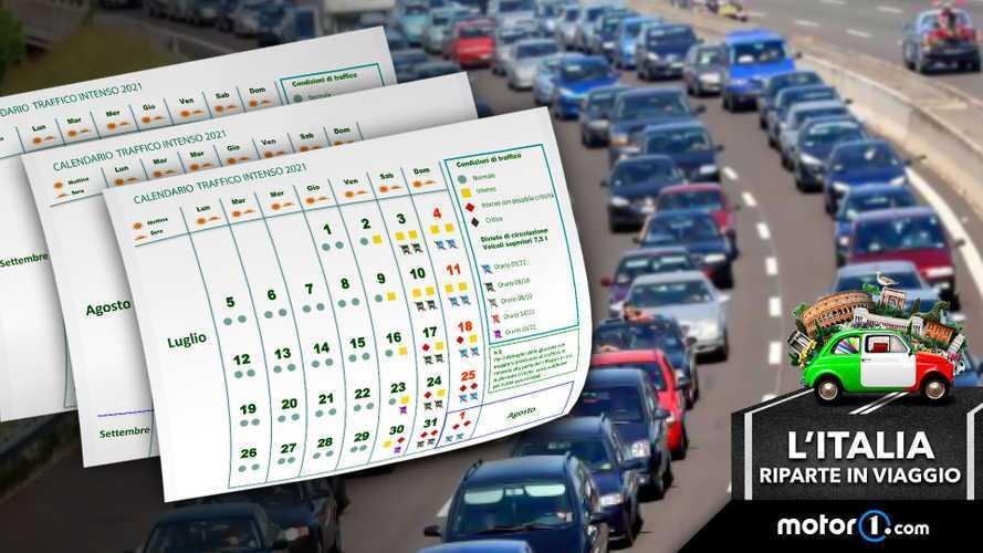 Previsioni del traffico per l'estate 2021