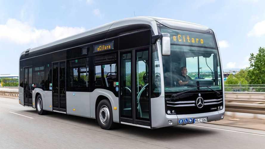 Mercedes eCitaro mit 441-kWh-Festkörperakku schon im Einsatz