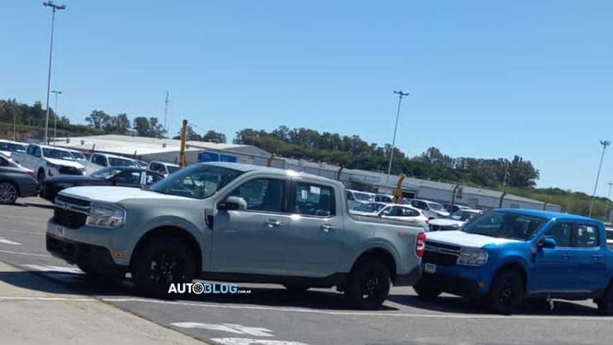 Ford Maverick: primeiras unidades da picape chegam à Argentina