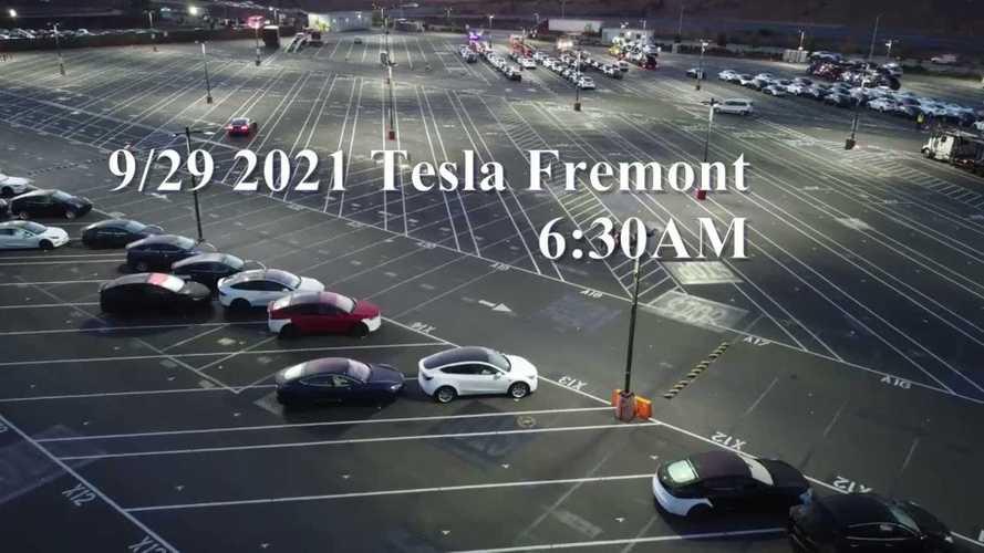Refreshed Tesla Model X EVs Spotted At Fremont, Deliveries Incoming?