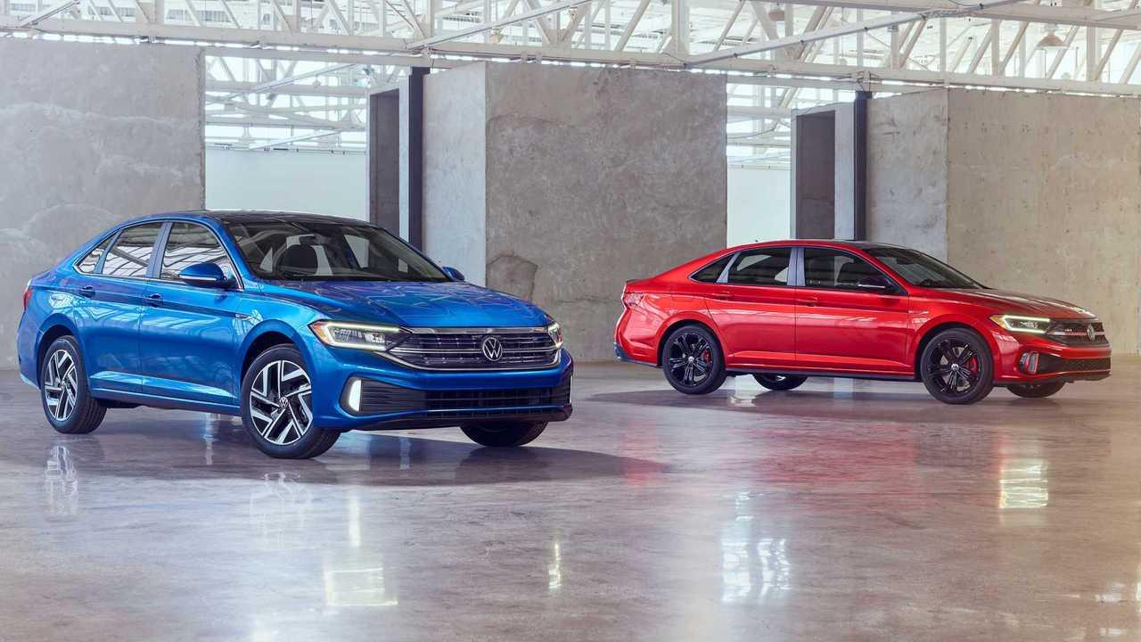 Обновленные седаны Volkswagen Jetta и Jetta GLI