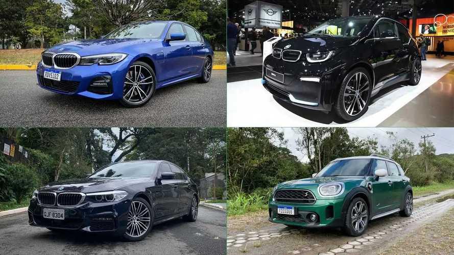 Carros eletrificados da BMW lideram ranking de consumo no Brasil