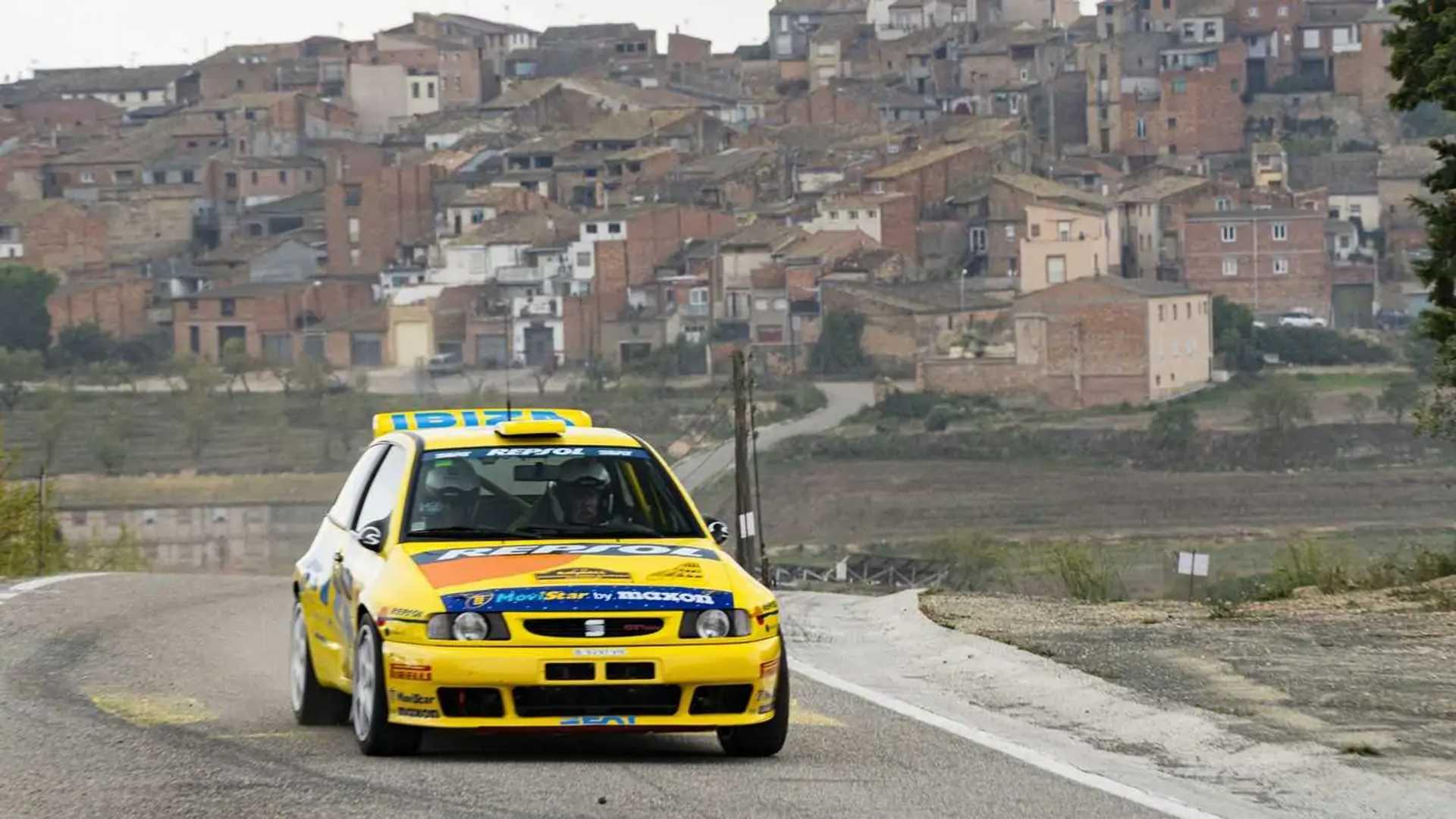 El SEAT Ibiza Kit Car celebra los 25 años de su primer Mundial