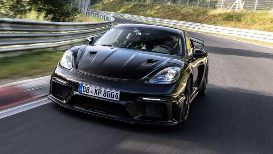 Porsche confirma el Cayman GT4 RS con un tiempazo en Nürburgring