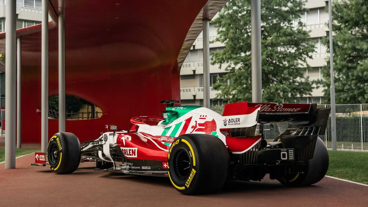 Alfa Romeo Monza festés