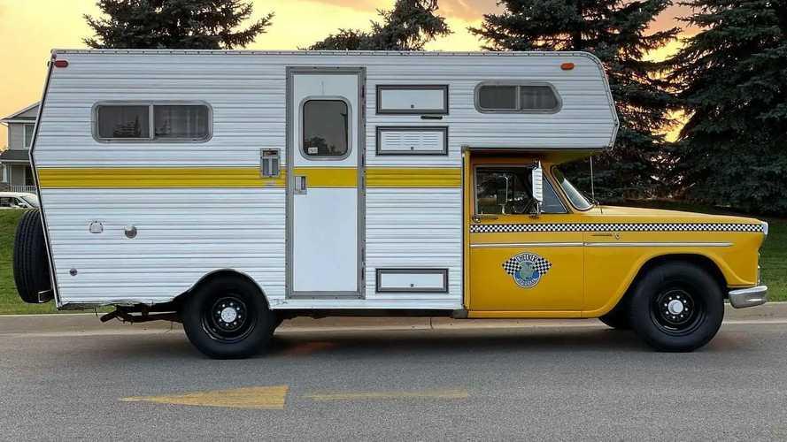 Checker Taxi Camper