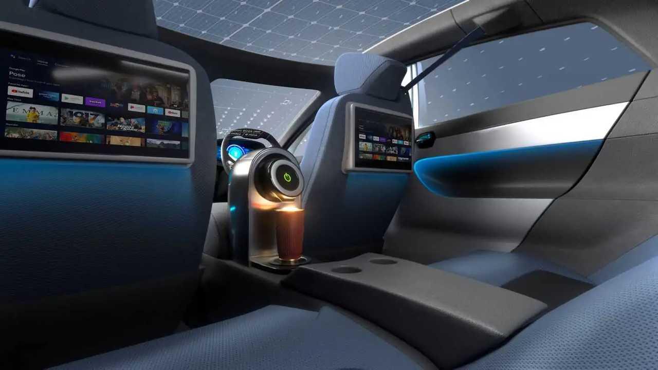 La macchina del caffè nell'auto del futuro, la richiesta degli inglesi