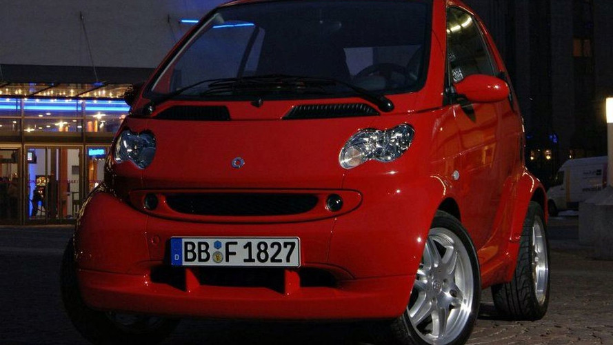 smart fortwo Edition Red at Paris Motor Show