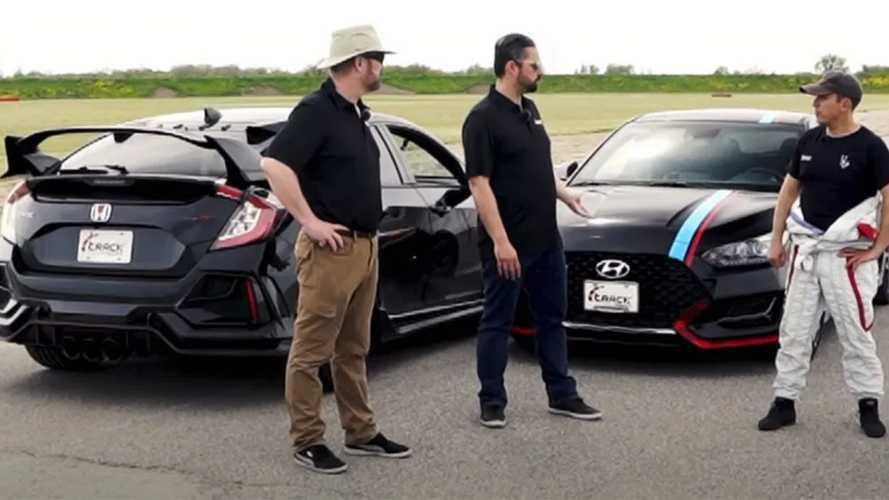 Örömmel fogadta a Hyundai Veloster N kihívását a Honda Civic Type R