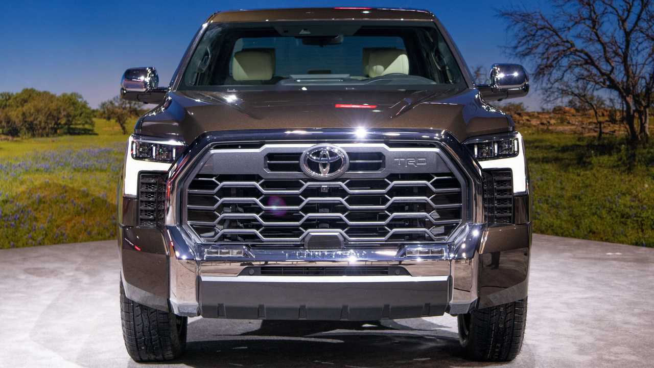 2022 Toyota Tundra 1794 Edition exterior view front view