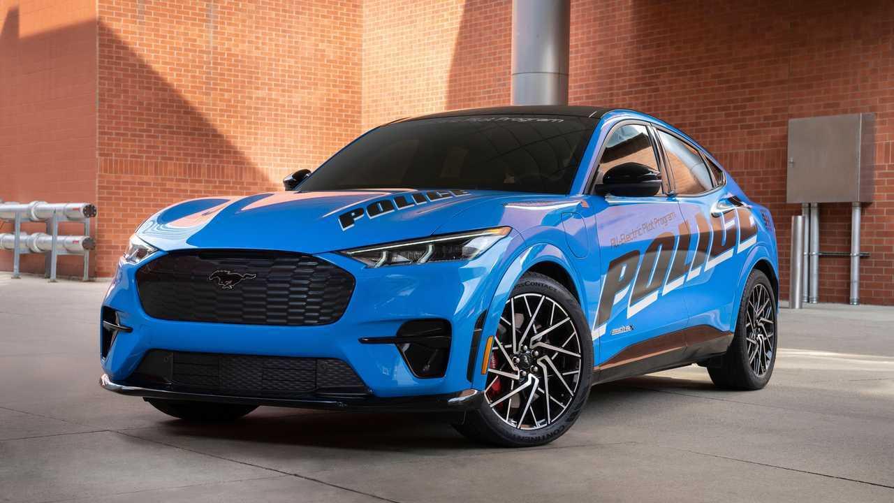 Ford Mustang Mach-E, in fase test per la polizia americana
