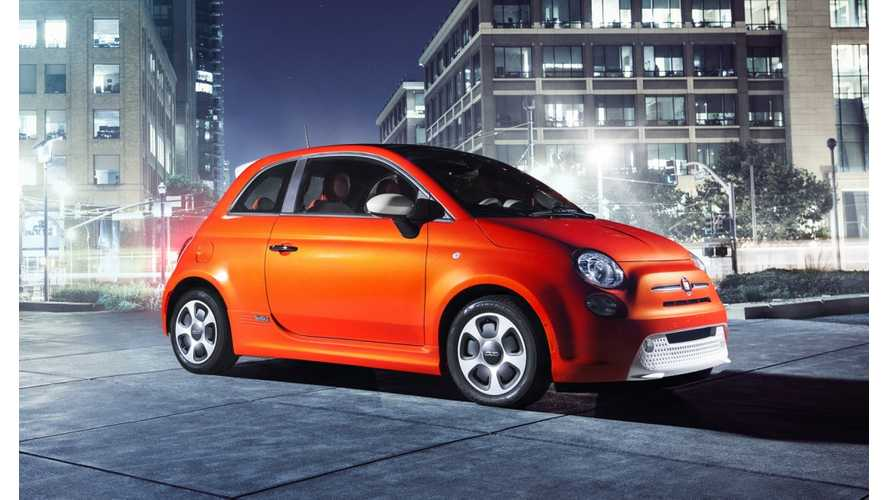 Fiat 500e Images Released Ahead Of LA Auto Show Debut