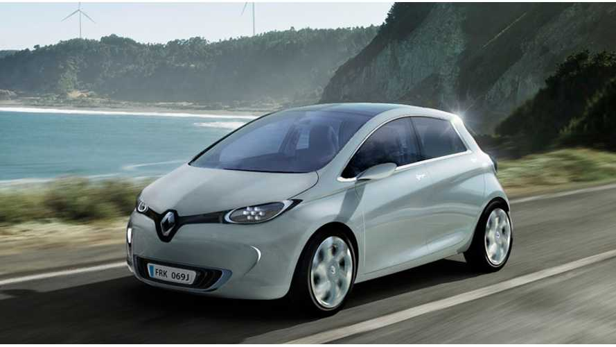 2013 Renault ZOE Named Best Green Car In Paris