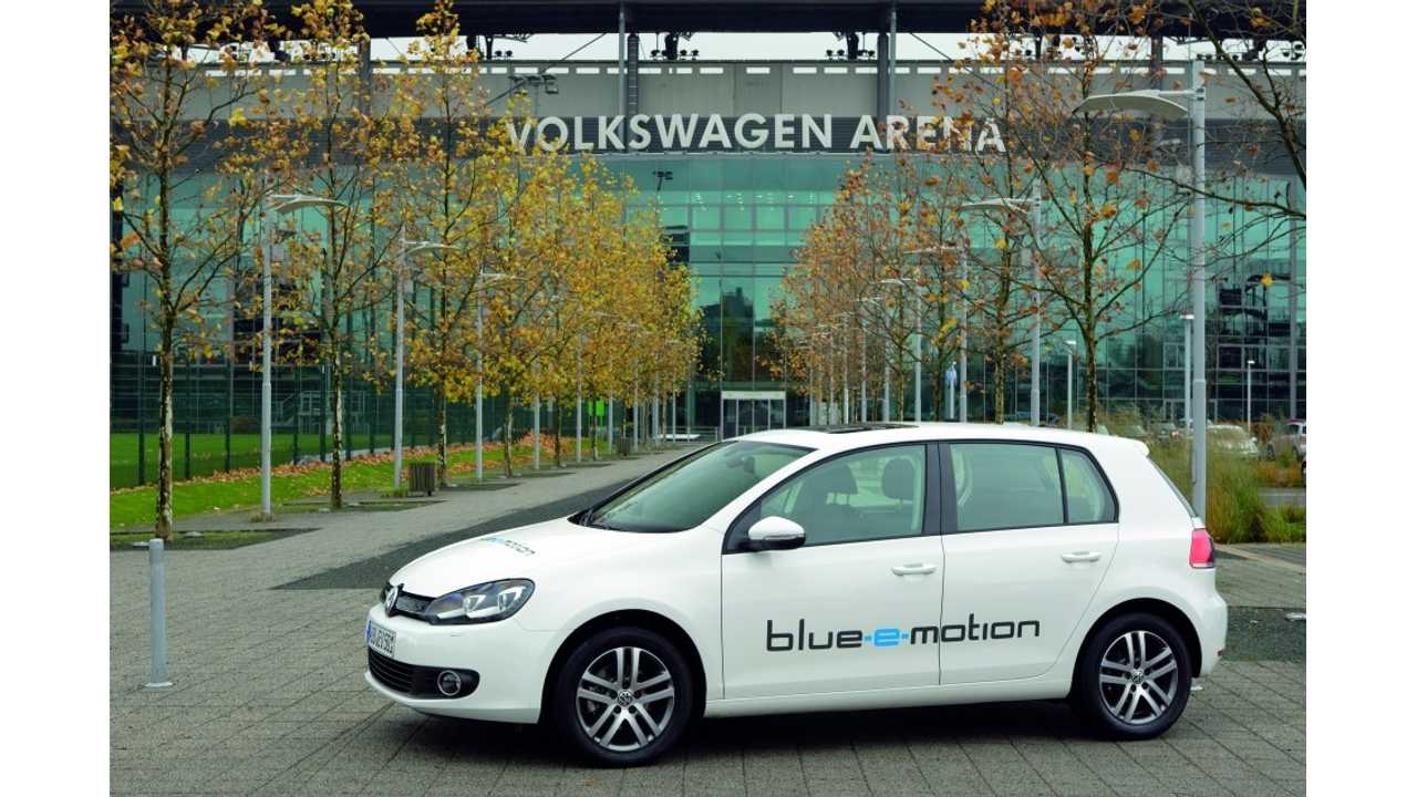 Volkswagen Has EV Golf Hidden In Their Portfolio Waiting For The Right Time