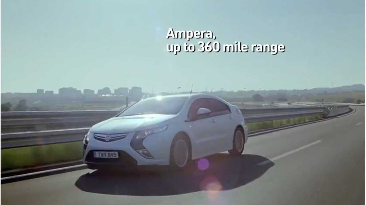 You Can't Advertise Like That Here:  Vauxhall Ampera Ad Banned For Being Misleading (Video)