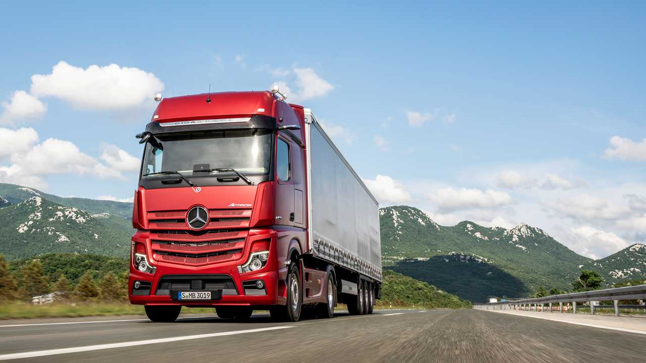 Nuovo Mercedes Actros