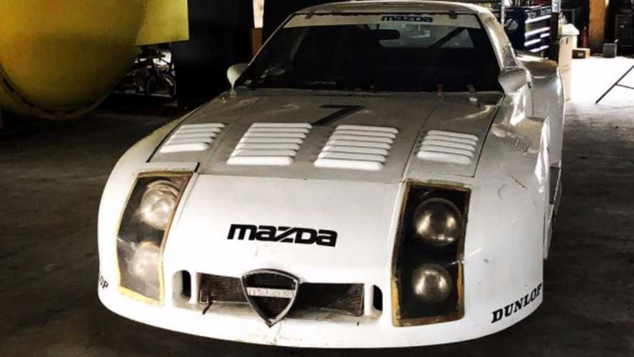 Une Mazda 254i RX7 ayant disputé les 24 Heures du Mans 1982 refait surface