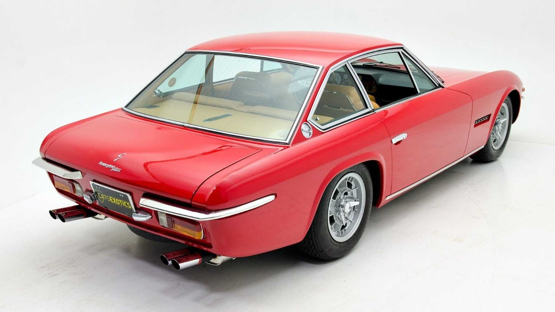 This 1 Of 100 Lamborghini Islero S Could Be Yours Motorious