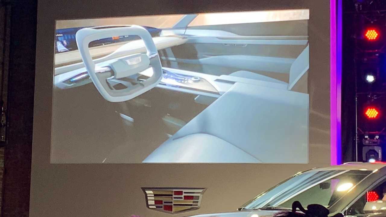 Cadillac Evening News >> Cadillac Previews Its First Ever Ev As A Three Row Crossover