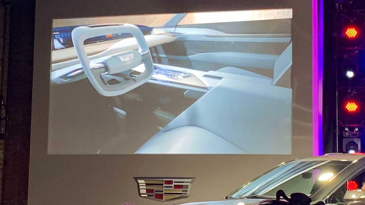 Cadillac EV Crossover Interieur