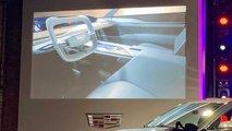 Cadillac EV Crossover Interior