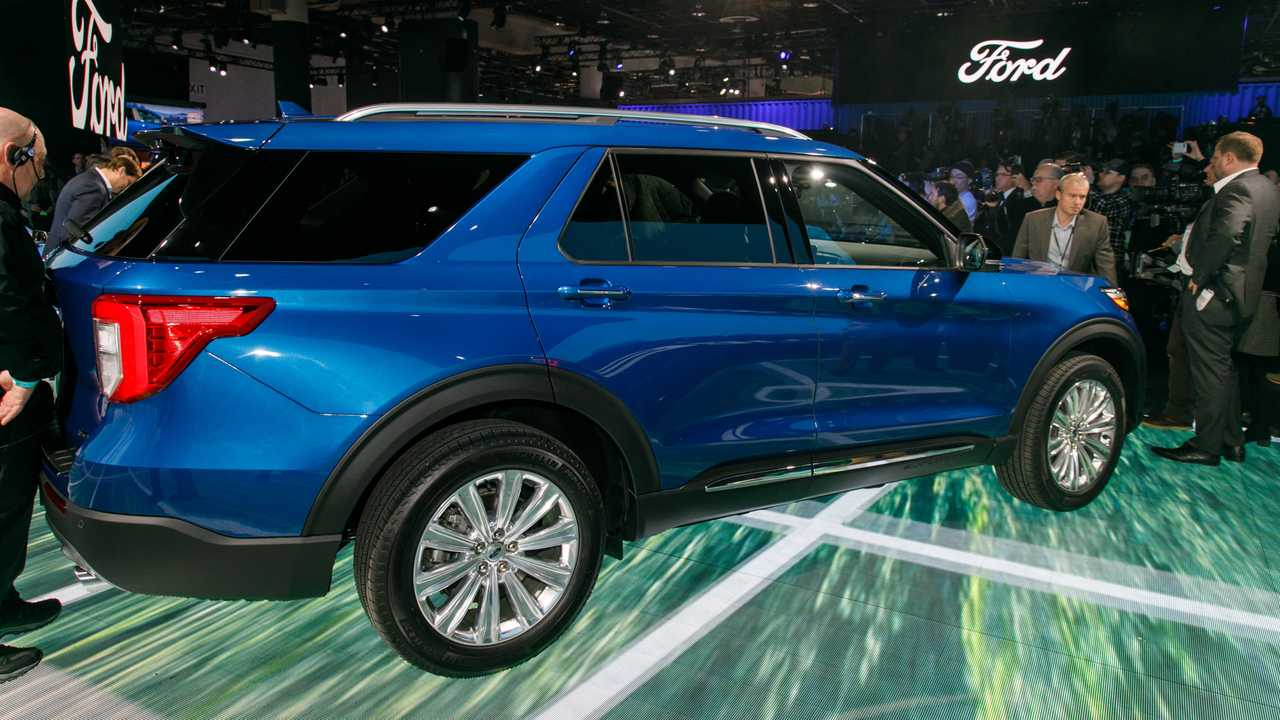 ford explorer hybrid promises power  efficiency update