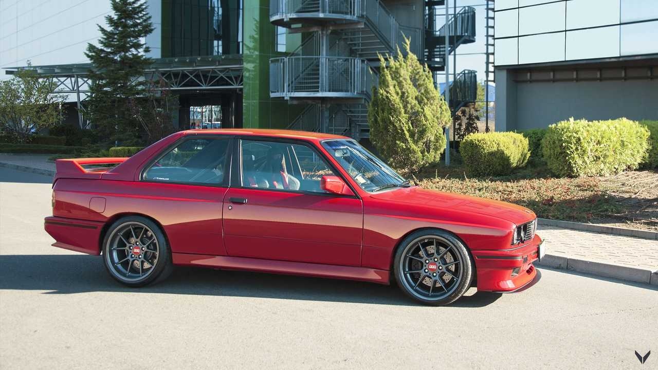 1990 Bmw M3 By Vilner Combines Tartan With E36 M3 S Engine