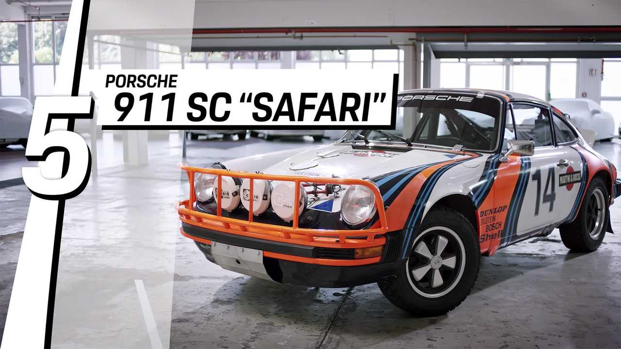 5. Porsche 911 SC Safari