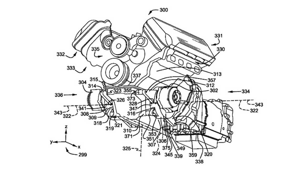 Ford Mustang Hybrid Engine Patent