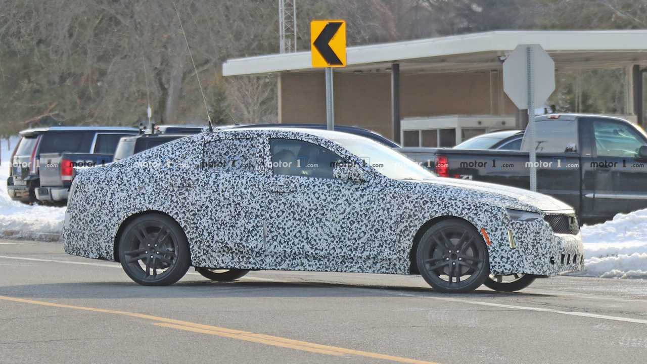 2020 Cadillac CT4 Spy Photo