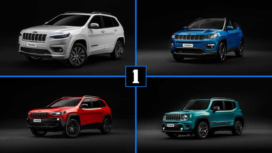 Jeep Cherokee, Compass, Renegade show stylish upgrades in Geneva
