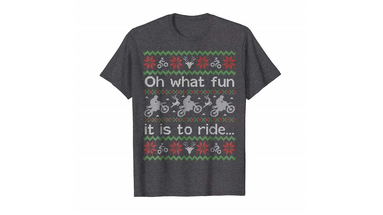 Ugly Sweater Motorcycle T-Shirt
