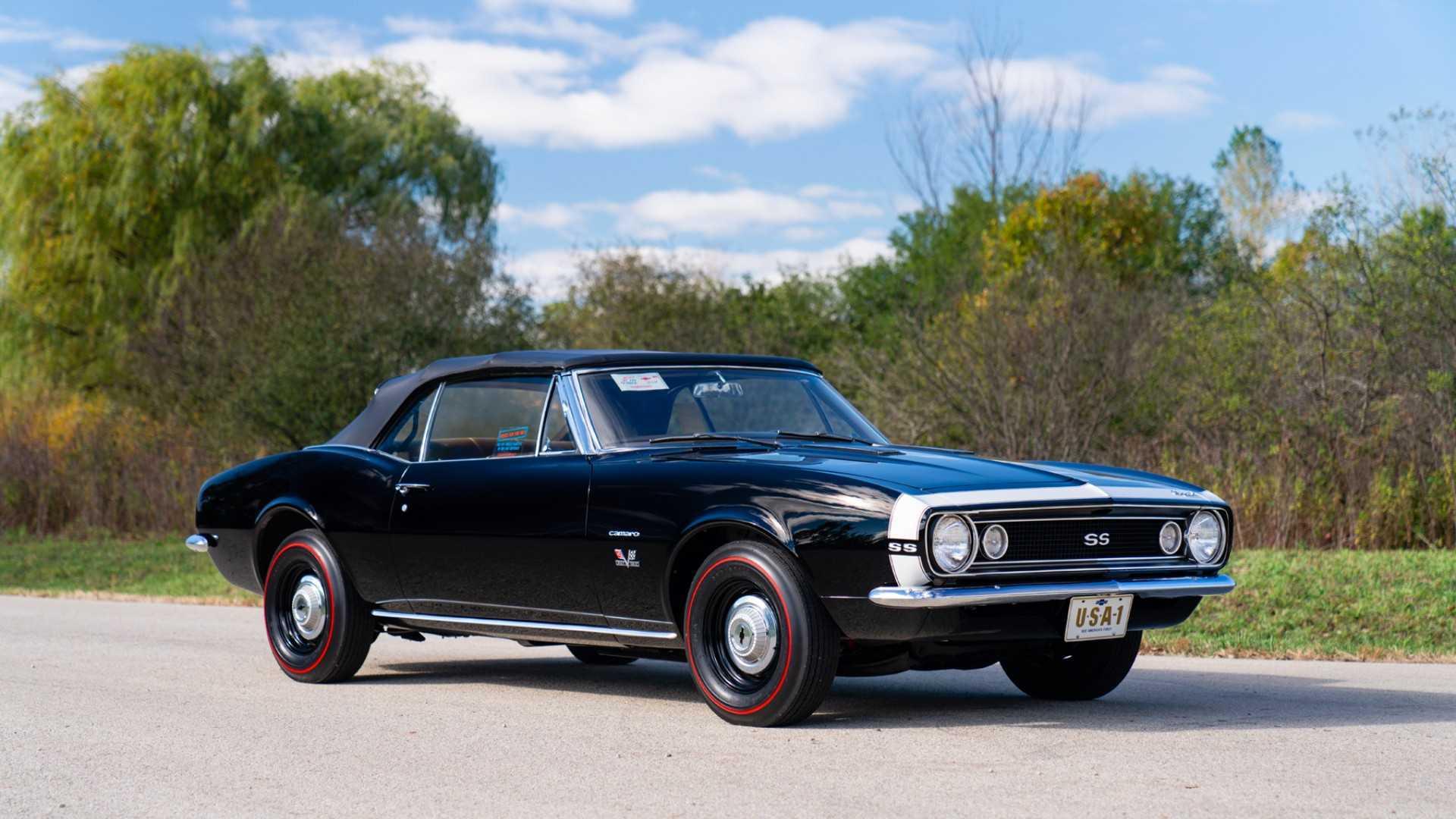 """[""""1967 Chevrolet Camaro SS Convertible""""]"""