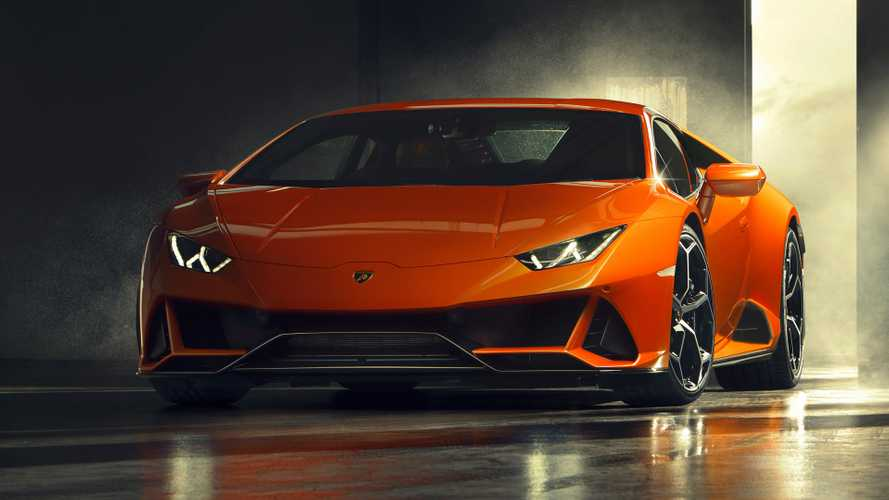 Lamborghini Huracan EVO facelift revealed with more power