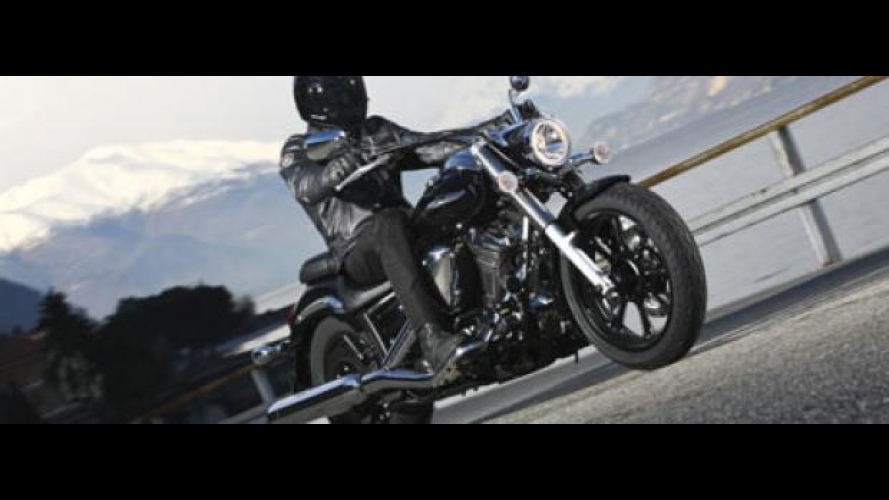 Yamaha XVS950A Midnight Star 2010
