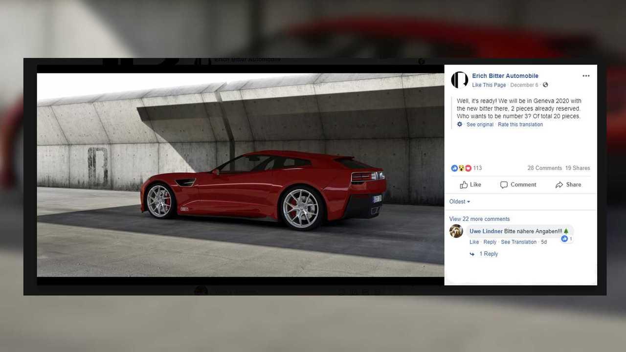 Chevrolet Corvette C7 Shooting Brake Render