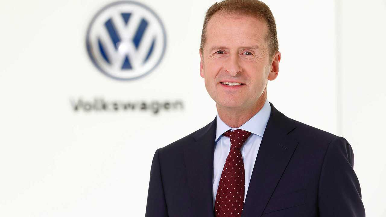 Herbert Diess se convierte en el CEO de Volkswagen.