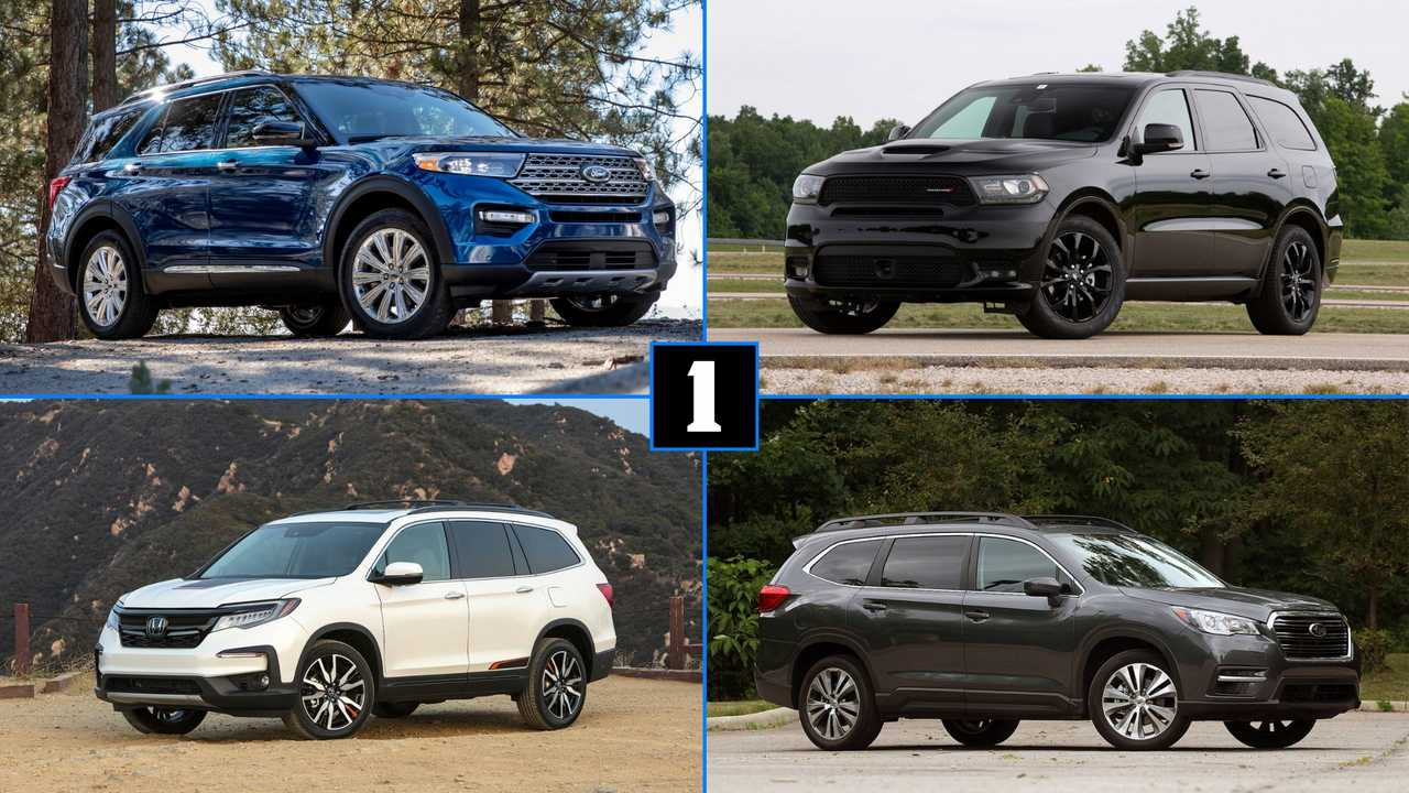 Subaru Vs Honda >> 2020 Ford Explorer: How Does It Stack Up To The Competition