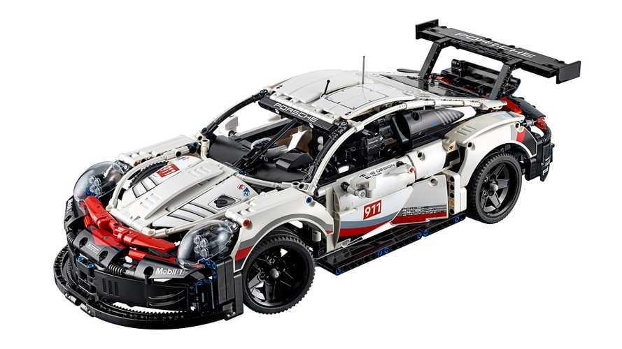 Gigantischer Porsche 911 RSR von Lego Technic