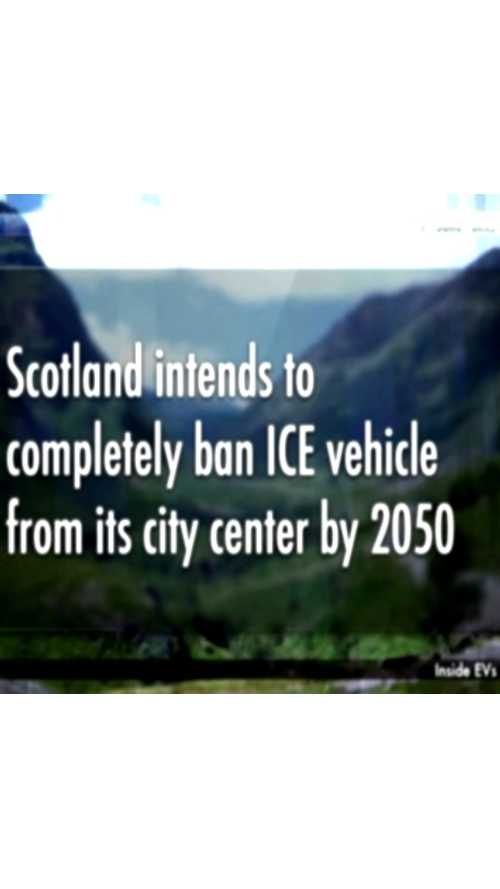 Video: Scotland to Ban ICE From City Centers by 2050