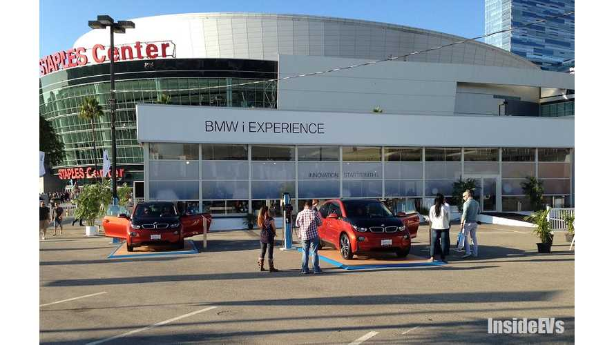 BMW i3, Chevy Spark EV and Fiat 500e Were the Electric Stars of the 2013 LA Auto Show