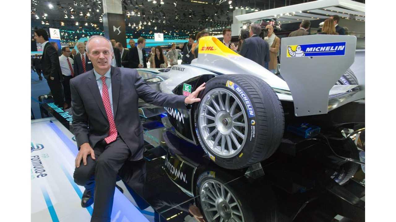 Michelin Energy-Efficient Tires For FIA Formula E Championship (w/video)