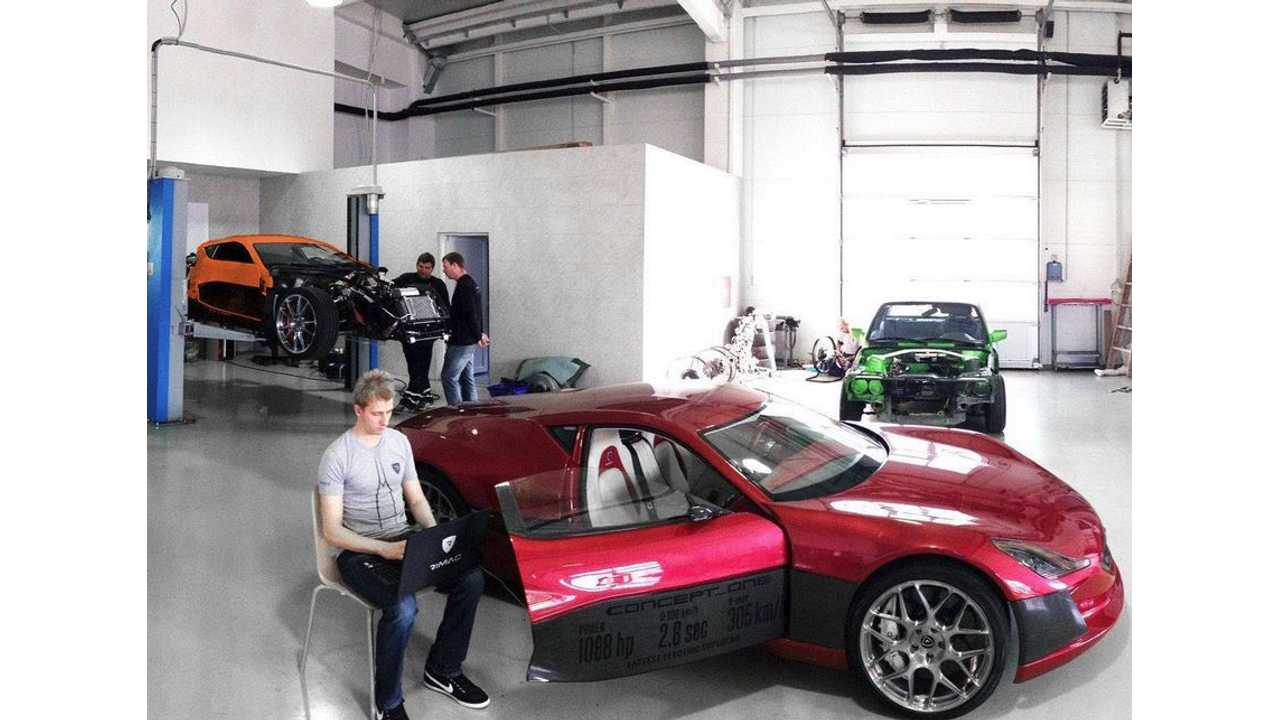 Rimac Automobili Starts Production of Concept_One?