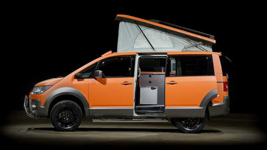 Mitsubishi Delica Camper Is Your Go-Anywhere Compact Motorhome