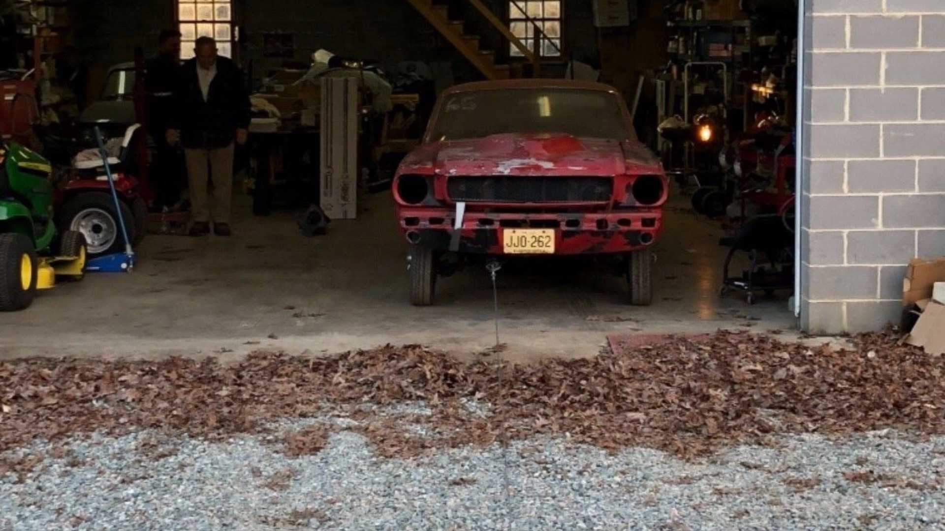 """[""""Could This Be The Lowest-Milage 1965 Mustang Fastback Around?""""]"""