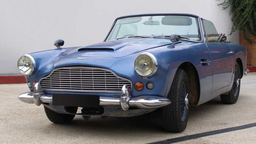 One-Off Aston Martin DB4 Volante GT Selling At Rétromobile